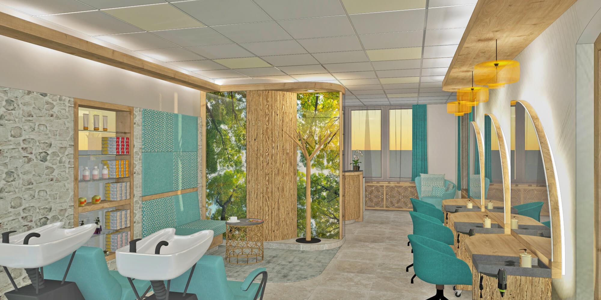 Crea-Plan-Design-Rauch-Frühmann-Architektur-Innenarchitektur-Design-Projekt-Referenz-Hotelerie-Gastronomie-Hotel-Bergknappenhof-Friseur