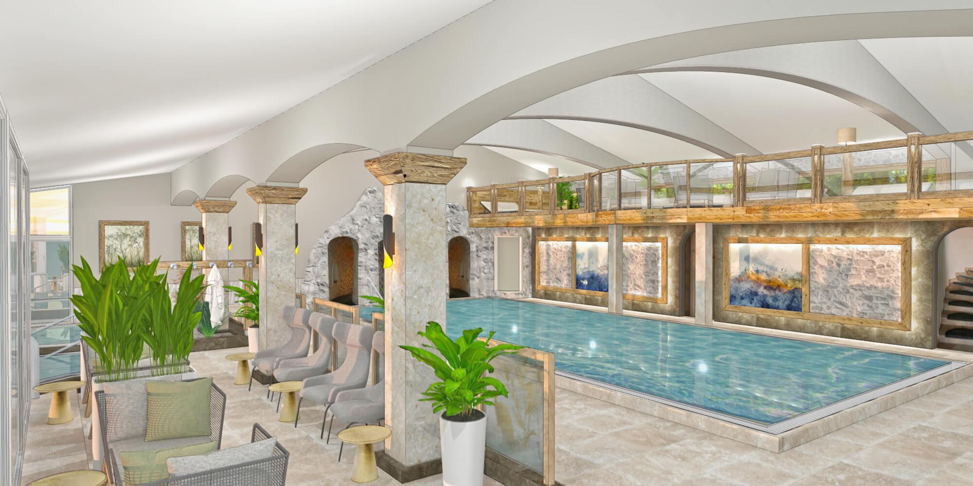 Crea-Plan-Design-Rauch-Frühmann-Architektur-Innenarchitektur-Design-Projekt-Referenz-Hotelerie-Gastronomie-Hotel-Bergknappenhof-Hallenbad-3