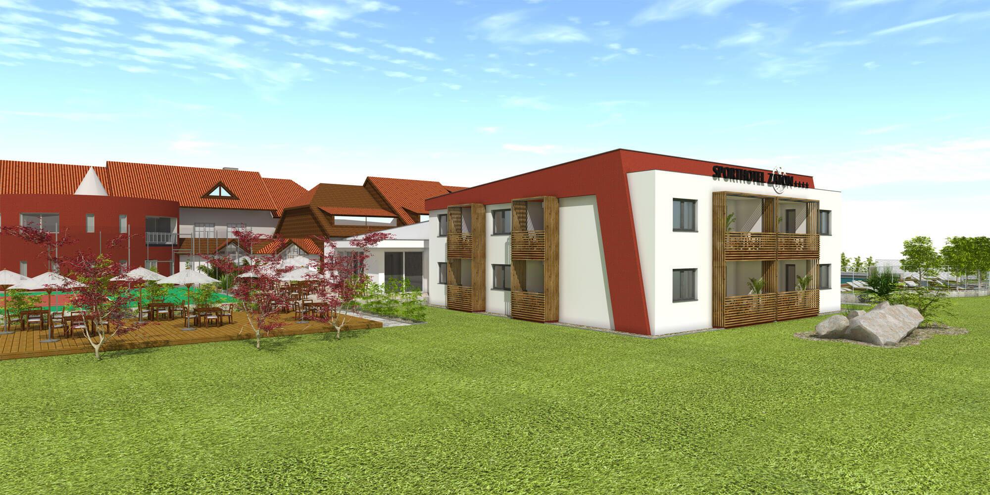 Crea-Plan-Design-Rauch-Frühmann-Architektur-Innenarchitektur-Design-Projekt-Referenz-Hotelerie-Gastronomie-Hotel-Sporthotel-Zaton-Zubau-Zimmer-1
